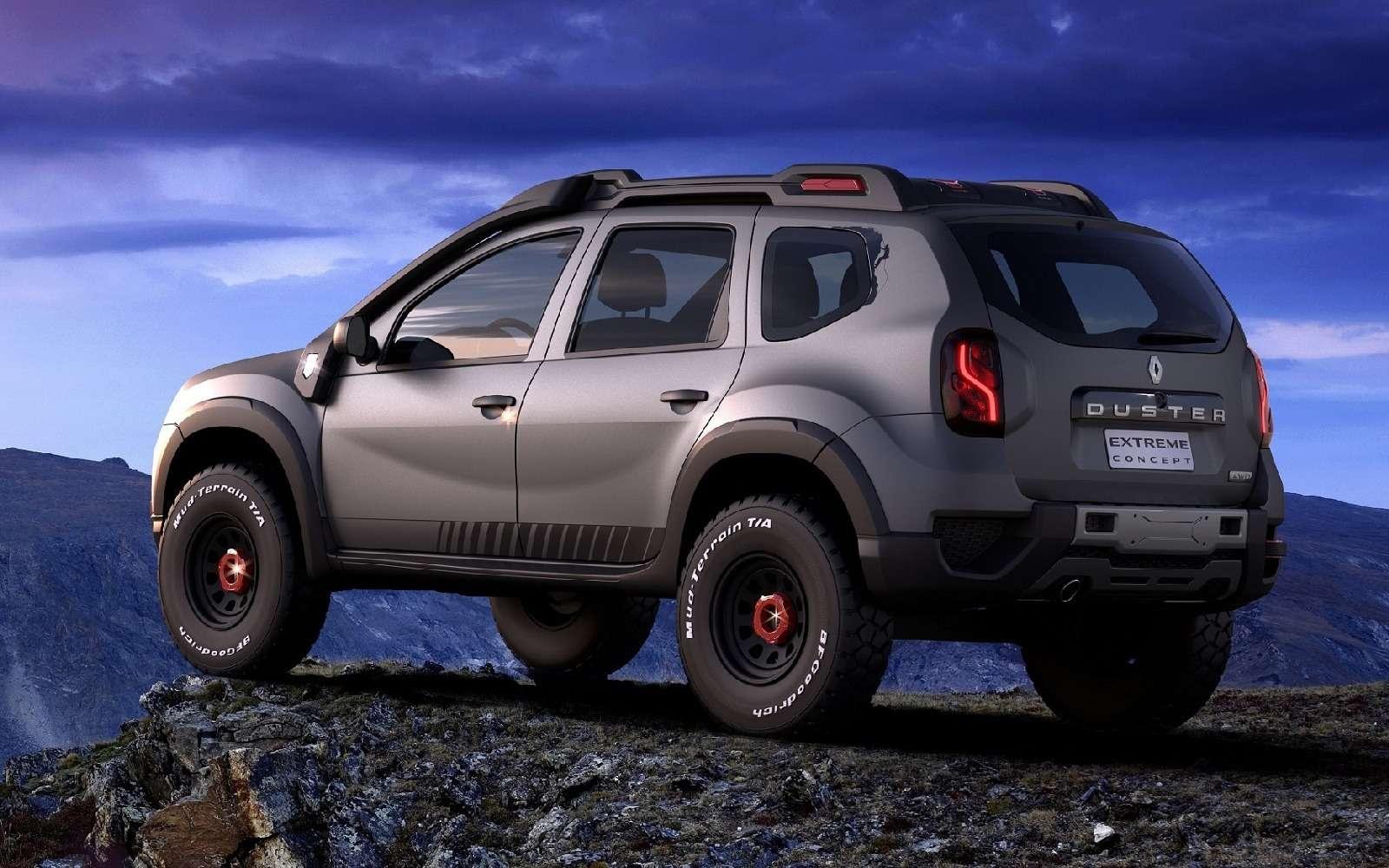 Экстремальный Renault Duster показали не втой стране— фото 661151