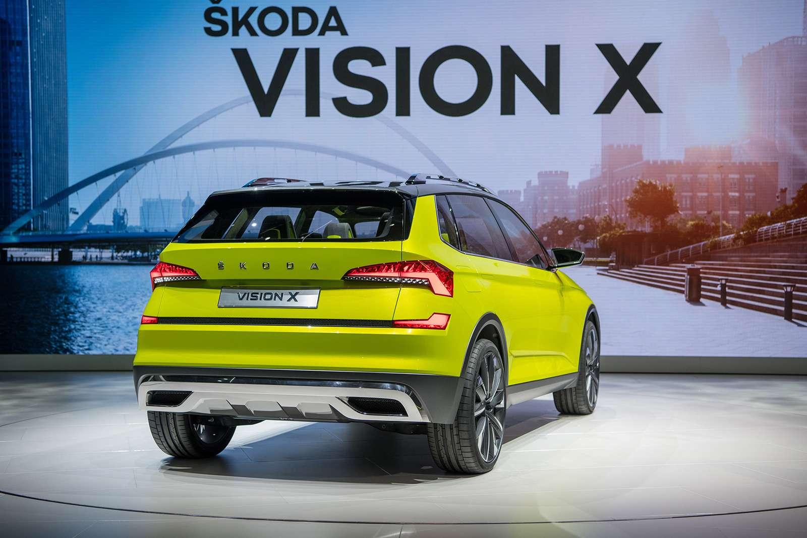 Skoda Vision X: ждем серийный кроссовер через год!— фото 850979