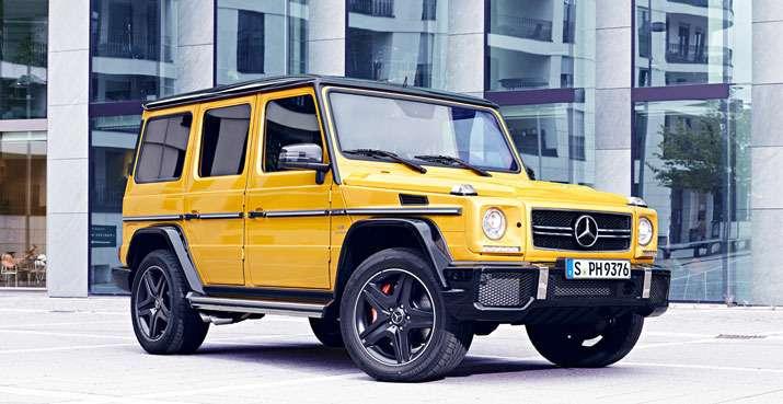 Mercedes-Benz начал продажи внедорожников G-класса вярких цветах— фото 371237