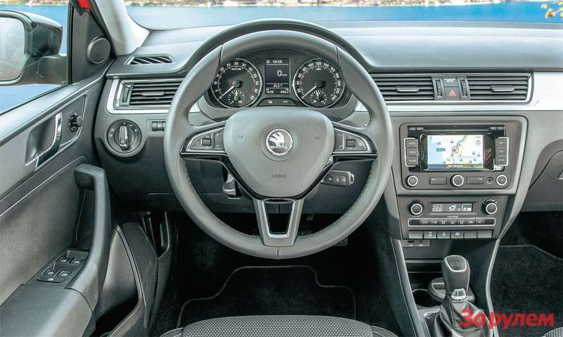 Skoda Rapid Spaceback салон