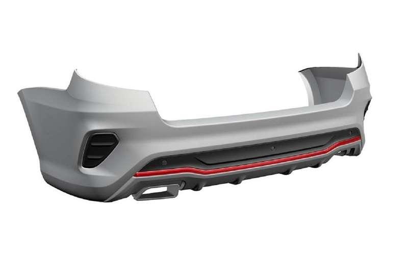 АВТОВАЗ запатентовал бамперы Lada Granta Drive Active