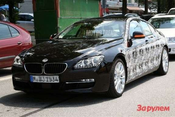 BMW6-Series GTside-front view