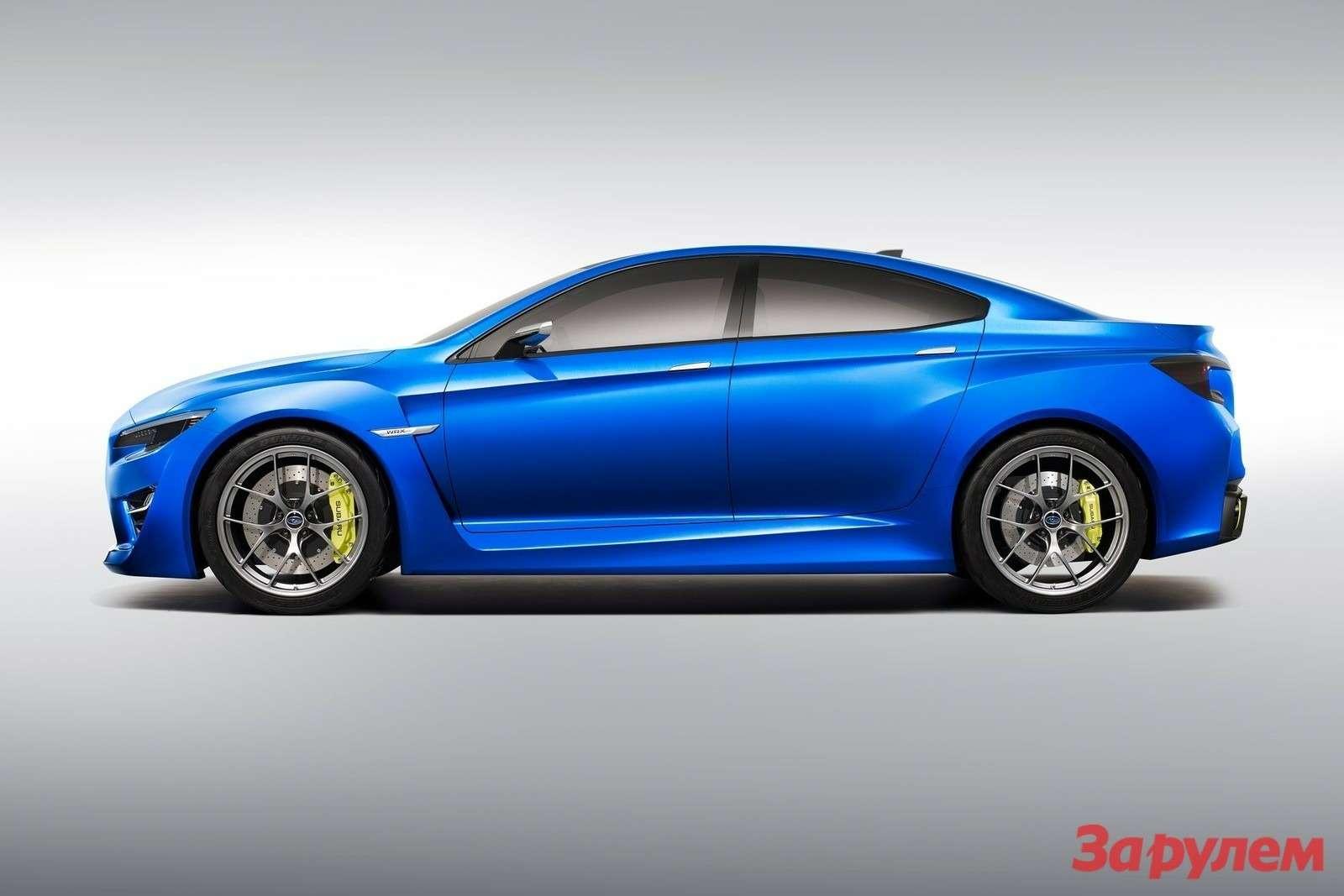 Subaru WRX Concept 2013 1600x1200 wallpaper 02