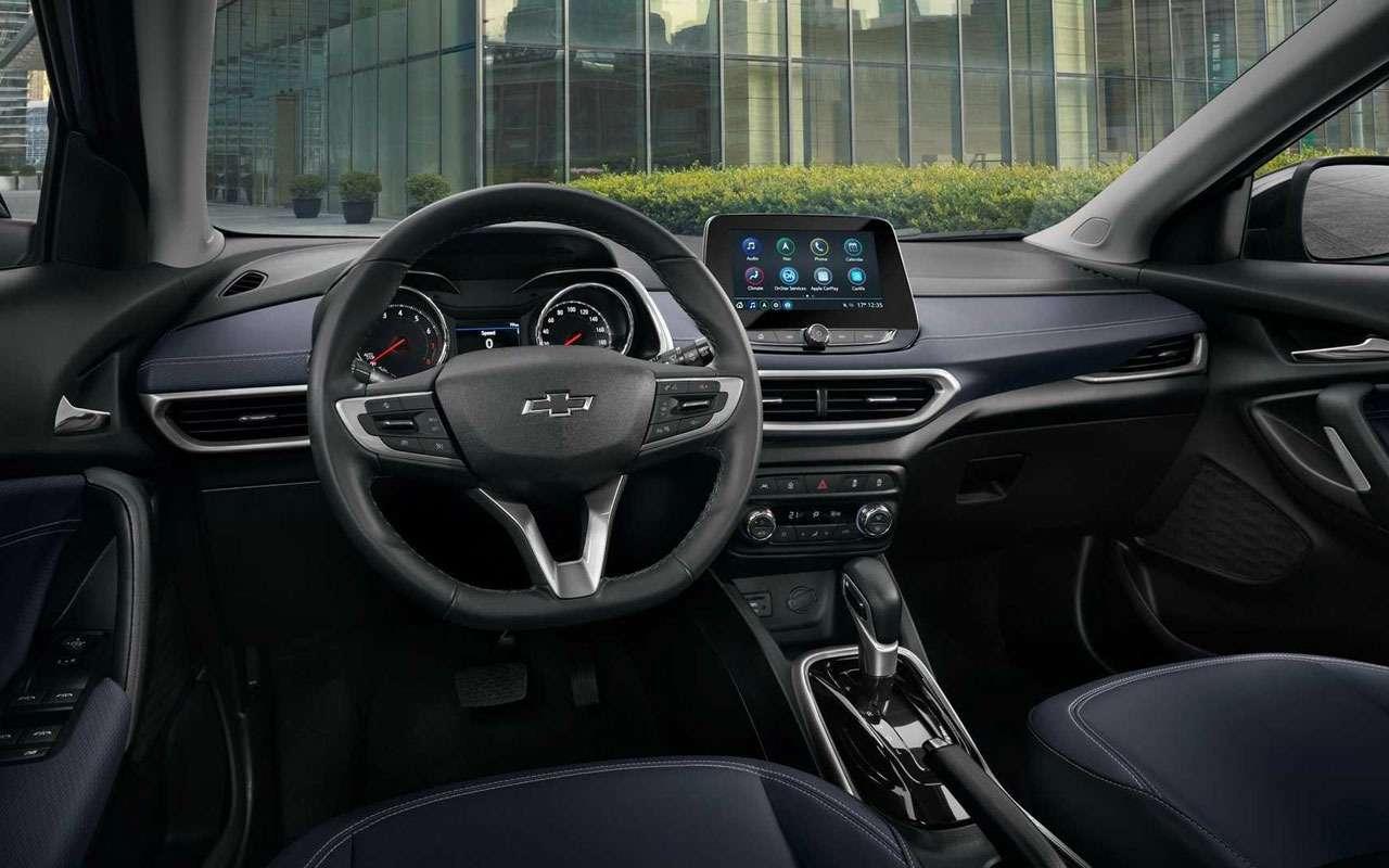 Новый Chevrolet Tracker— ждать ливРоссии— фото 1208945