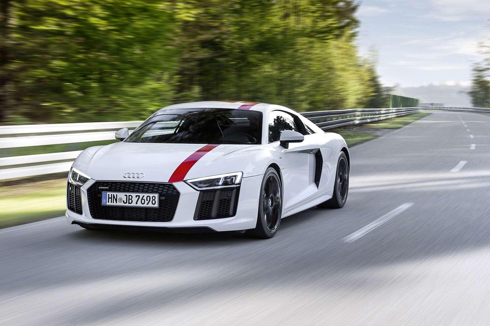 Audi показала свою первую заднеприводную модель— фото 793569
