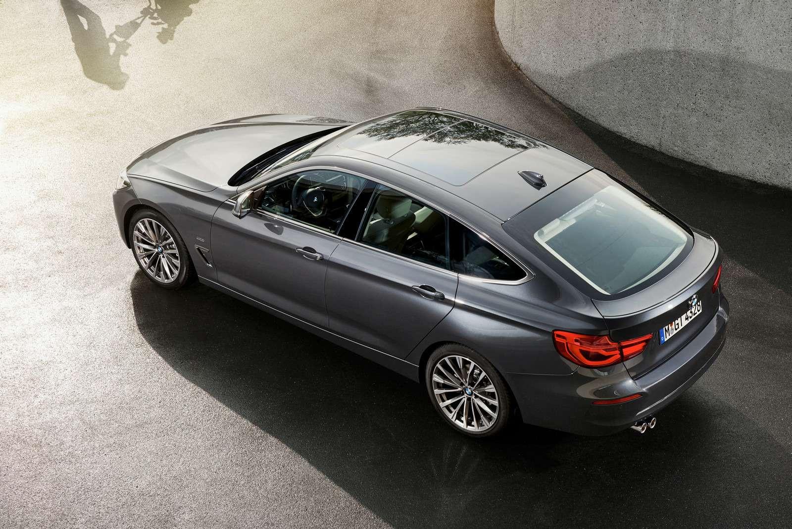 Обновленный BMW 3-й серии GT: урок эффективного менеджмента— фото 593851