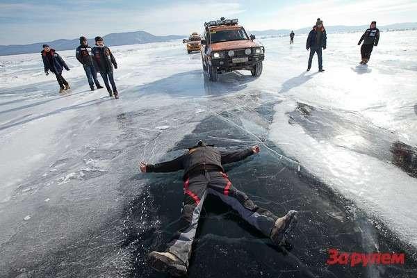 Спецучасток наозере Байкал