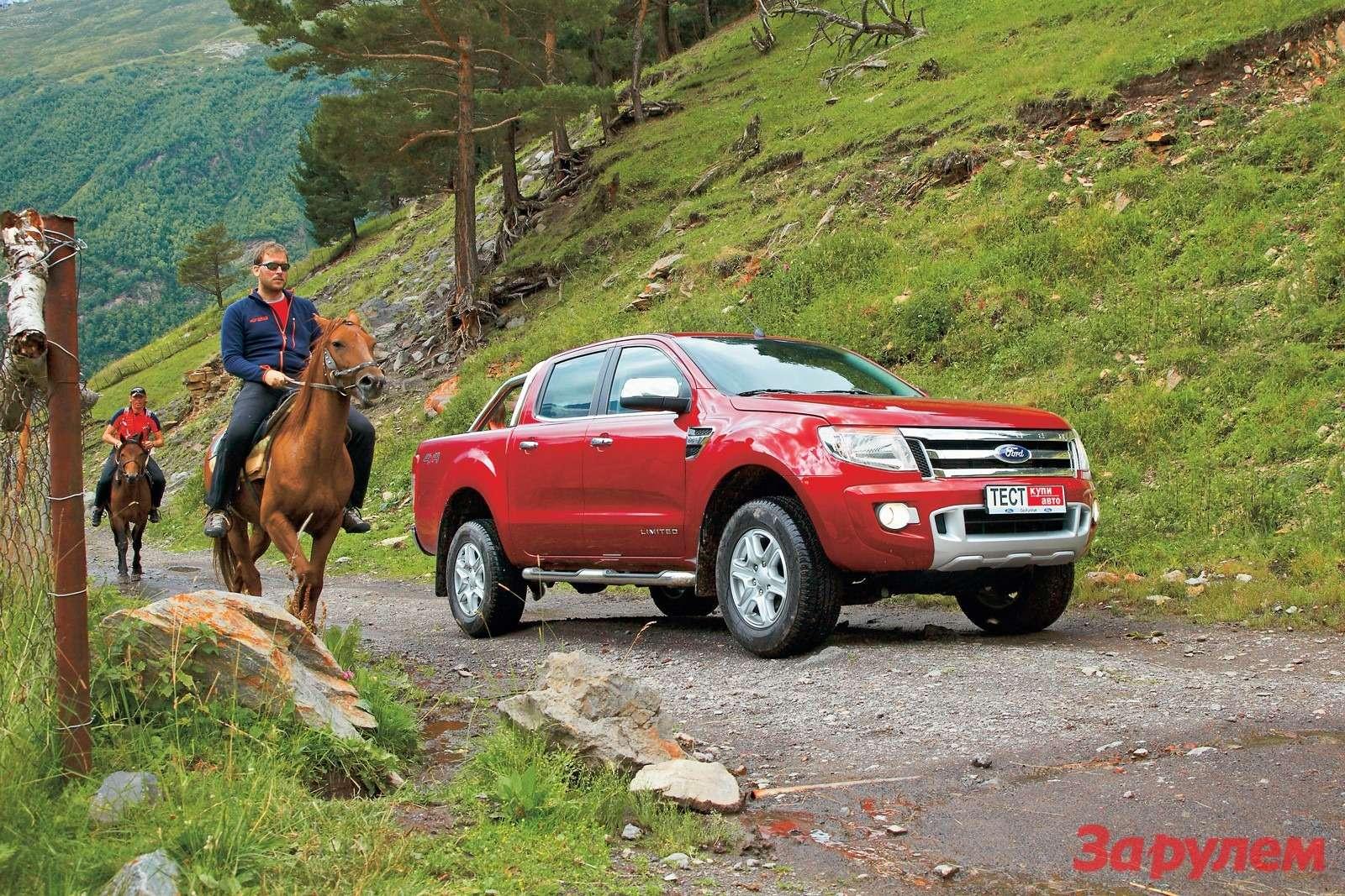 «Форд-Рейнджер», от1128000 руб., КАР от10,77 руб./км