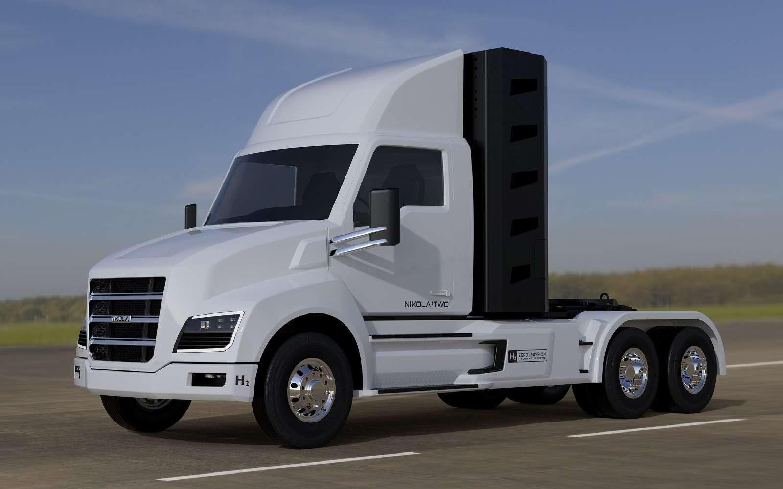Воздушный замок: Nikola Motor сдержала слово иявила миру чудо-грузовик— фото 672501