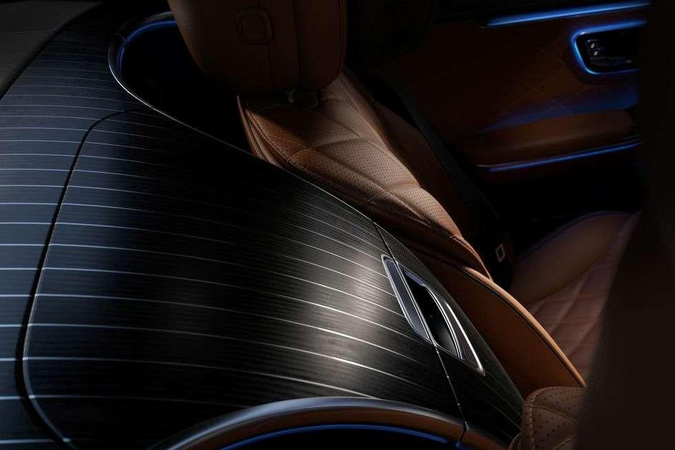 Новый Мерседес S-класса: фото роскошного интерьера— фото 1157985