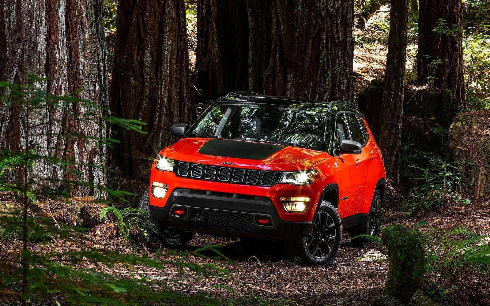 Jeep объявил рублевые цены накроссовер Compass— фото 803939
