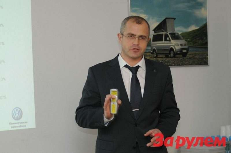 Михаил Семенихин, Глава марки VWNFZ вРоссии