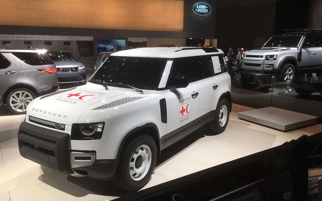 Новый Land Rover Defender: онбольше не рамный!— фото 995244