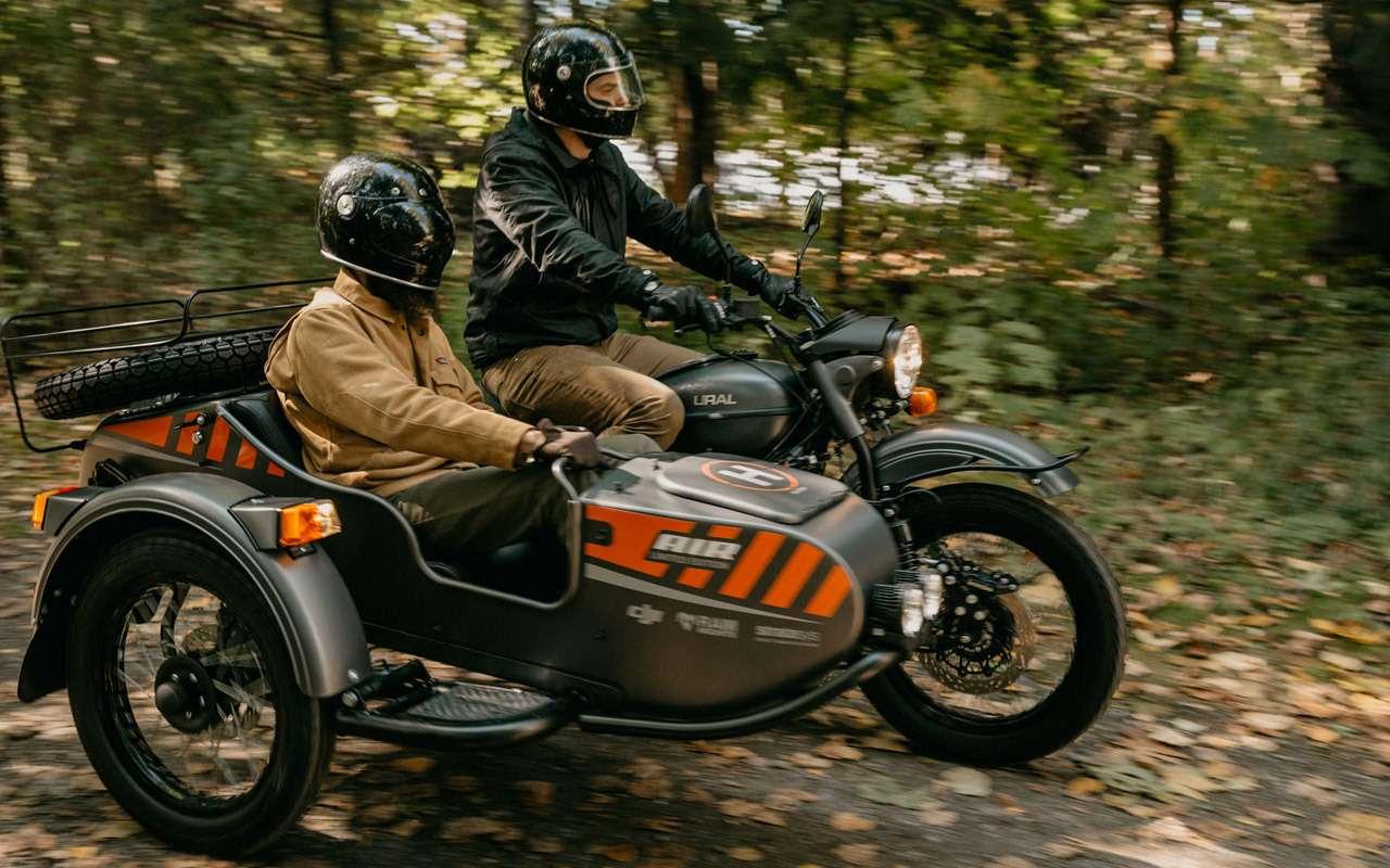 Урал Air: первый мотоцикл сдроном— фото 916720