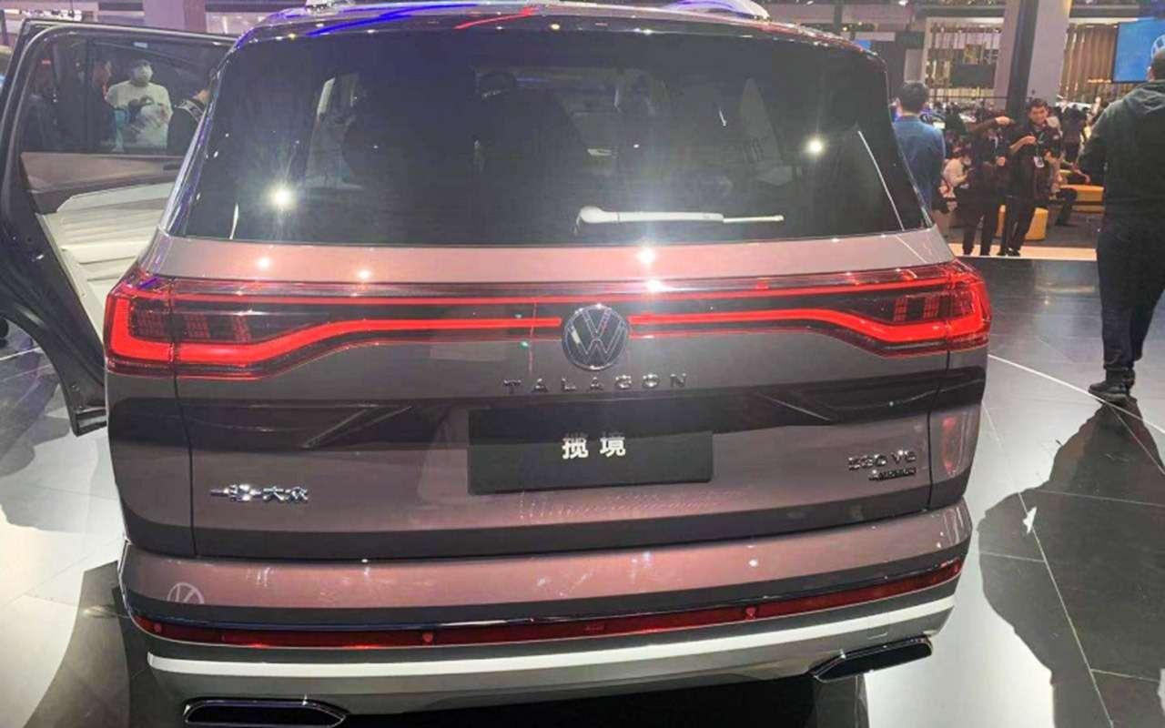 Volkswagen представил гигантский кроссовер Talagon— фото 1241312