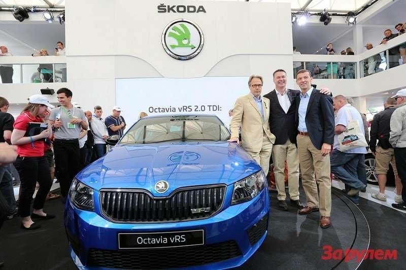 Мировая премьера новой Octavia RS (3)