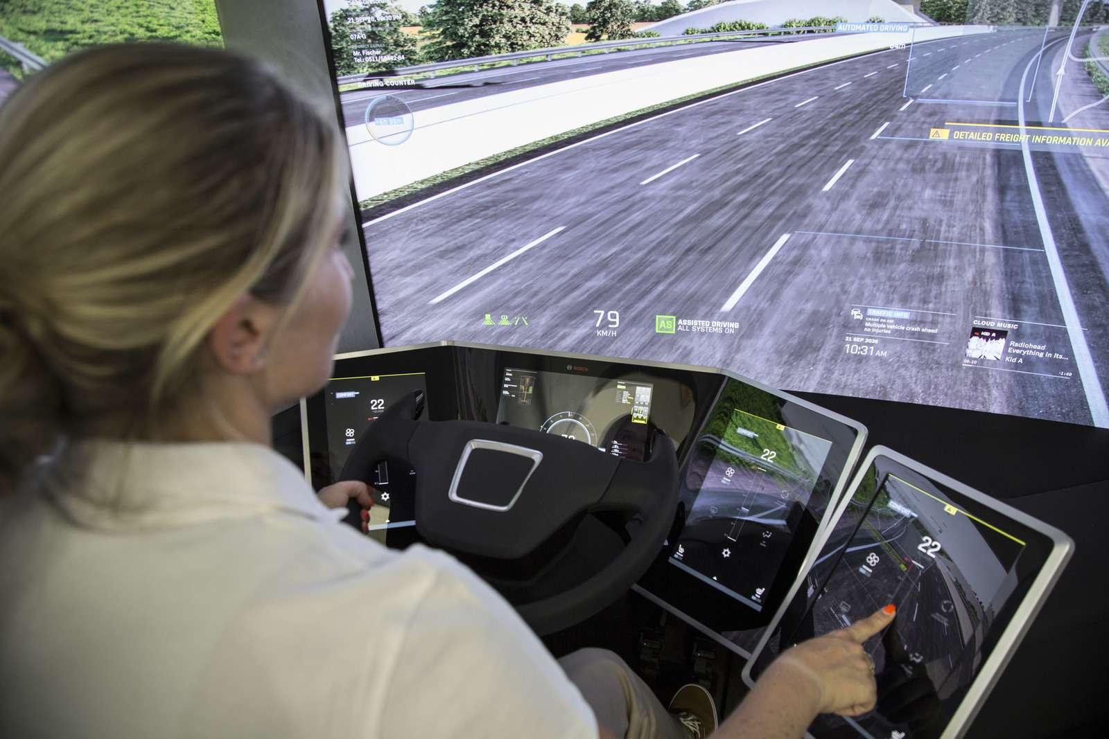 Концепт Bosch VisionX научили ходить встрою— фото 637803