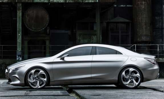 Mercedes-Benz Concept Style Coupe side view