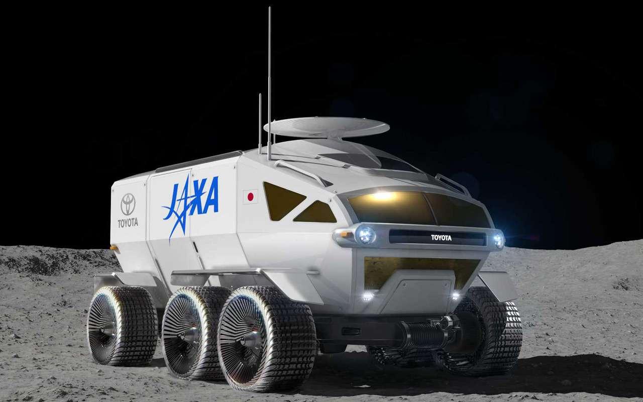 Тойоте заказали вездеход надвоих дляЛуны иМарса— фото 956842