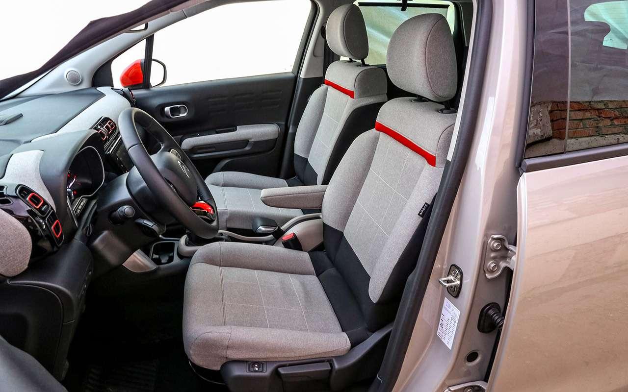 Большой тест стиляг: Toyota C-HR, Citroen C3Aircross иновый Kia Soul— фото 990462