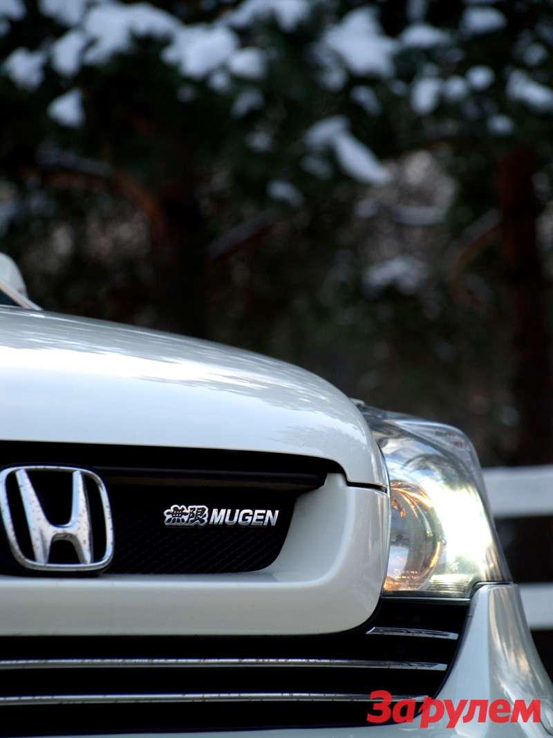 Honda CR-V Mugen Navi