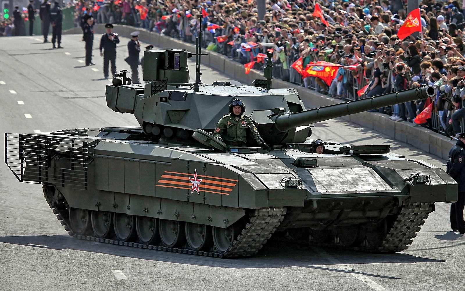 Танк нового поколения Т-14«Армата»