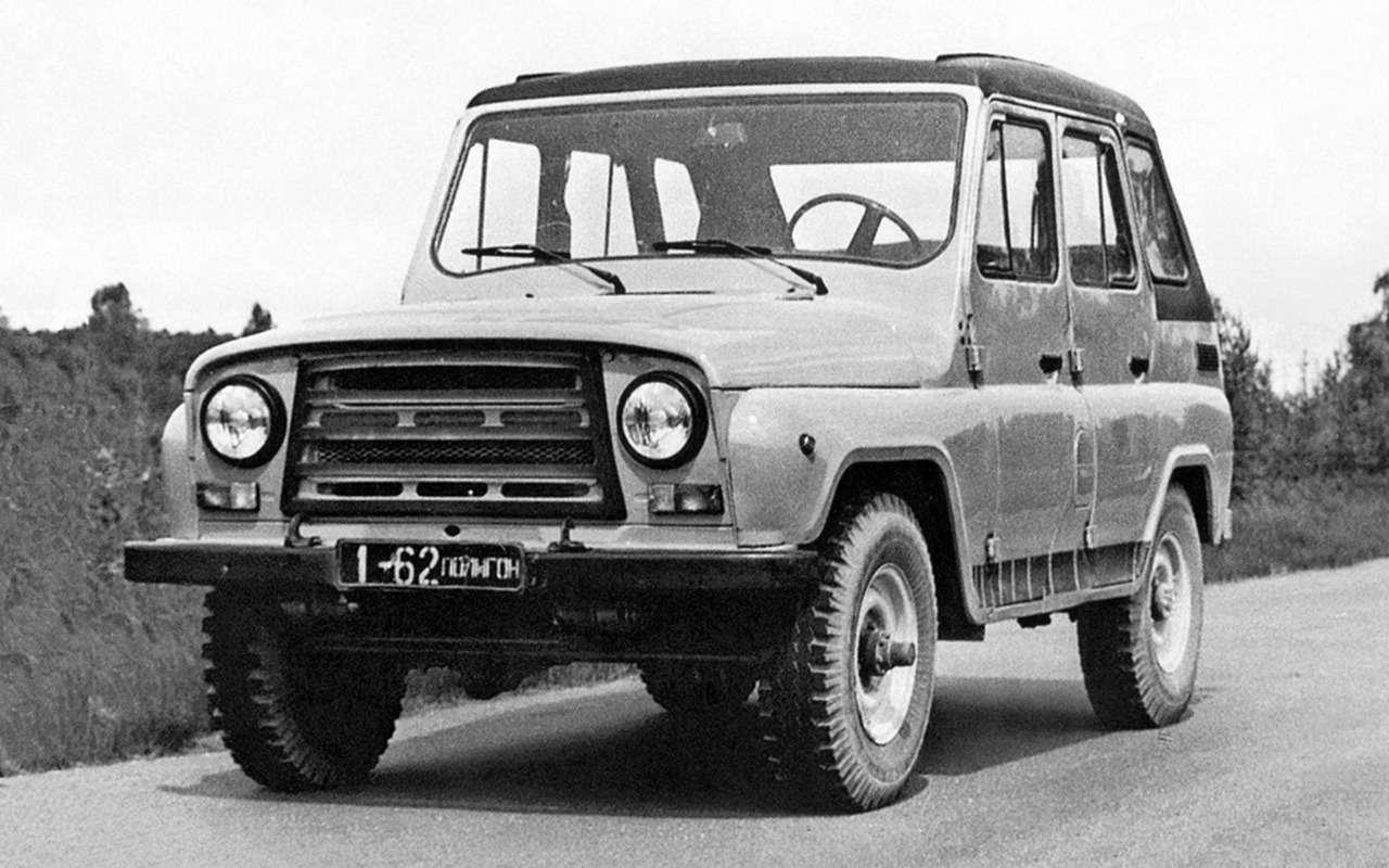 «Козлик» УАЗ-469— таких модификаций выточно невидели!— фото 978718