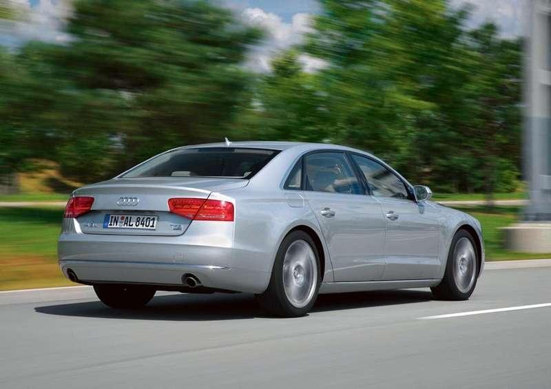 Audi A8L/Fahraufnahme