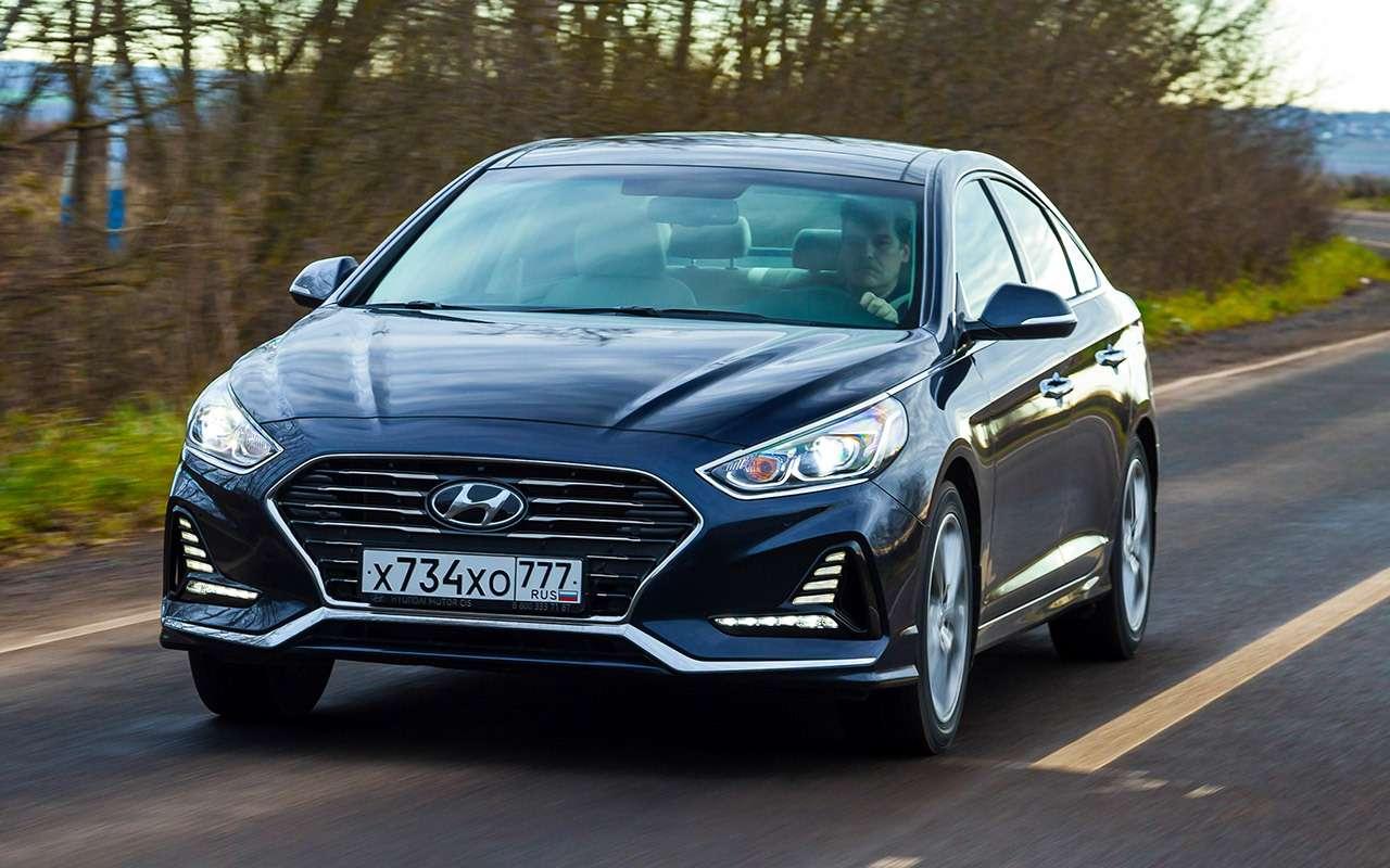 Hyundai Sonata против конкурентов— большой тест ЗР— фото 834928
