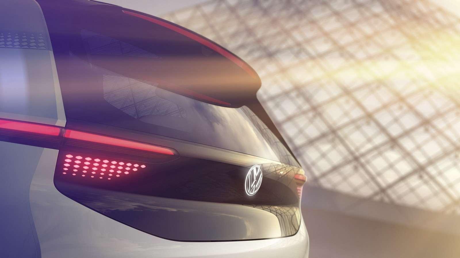 VWпоказал скетчи нового электрокара— фото 638653