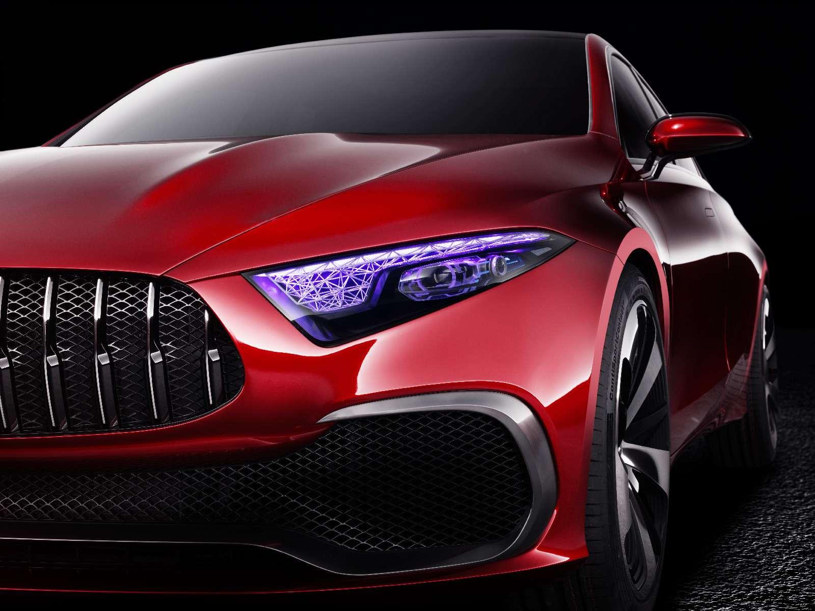 Прямолинейная чувственность: Mercedes-Benz Concept ASedan дебютировал вШанхае— фото 738835