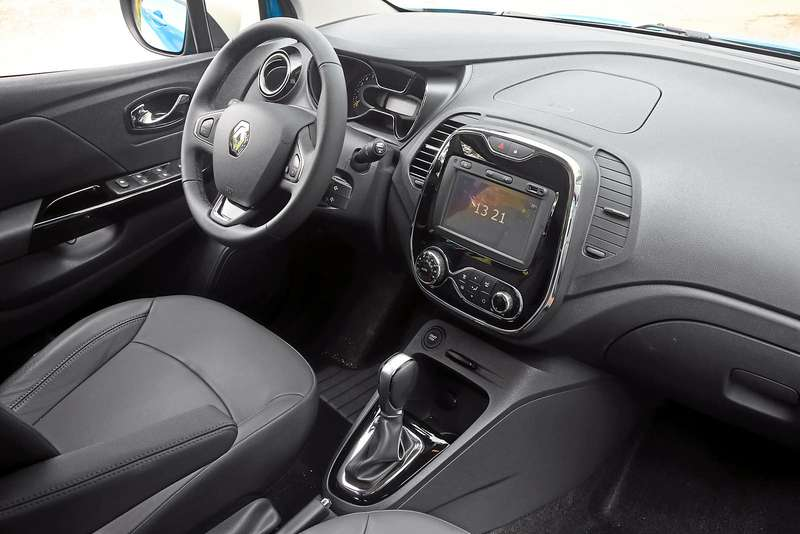 Интерьер Renault Kaptur CVT