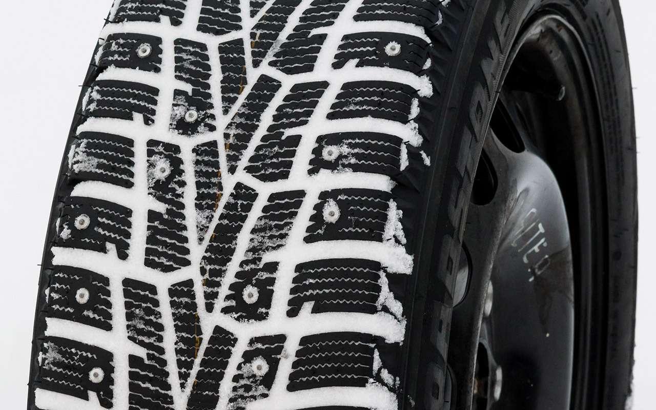 Большой тест шипованных шин: дорогие, подешевле и«никакие»— фото 1003234