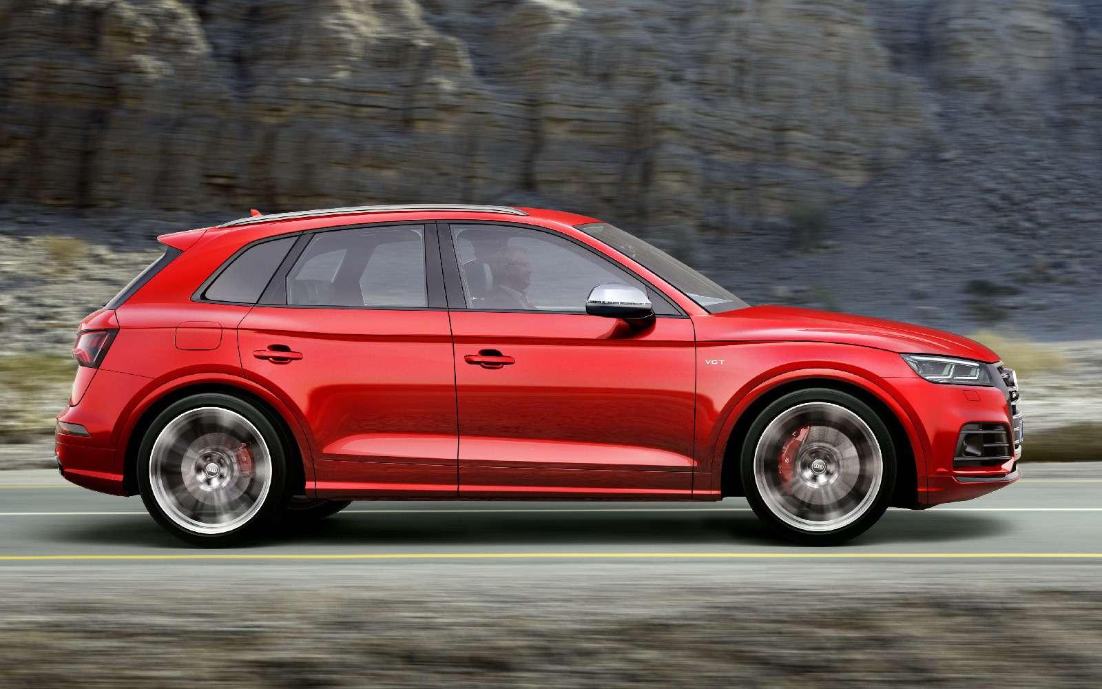 Audi SQ5 променял «мясорубку» на«улитку»— фото 690830