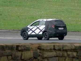 Новый Opel Frontera— пока вкамуфляже— фото 104115
