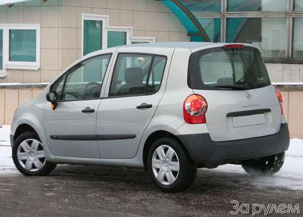 Renault Modus 1.2 Authentique. City mode— фото 62482