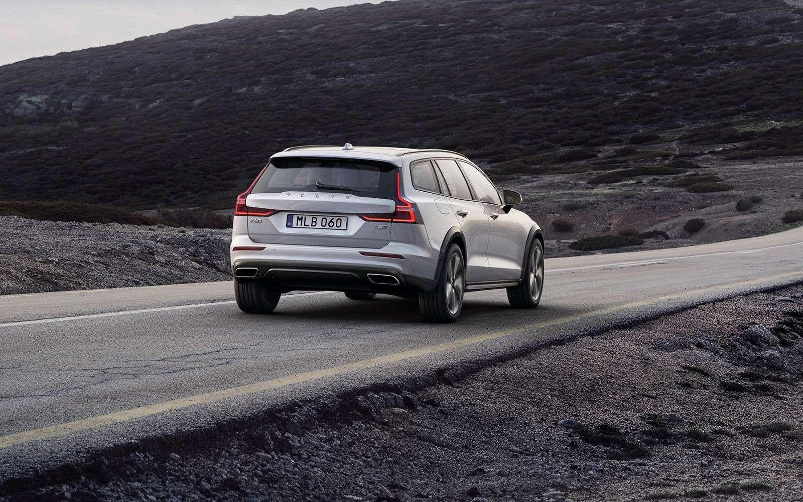 Volvo V60 Cross Country: еще один кросс-универсал. Ждем вРоссии!— фото 908314