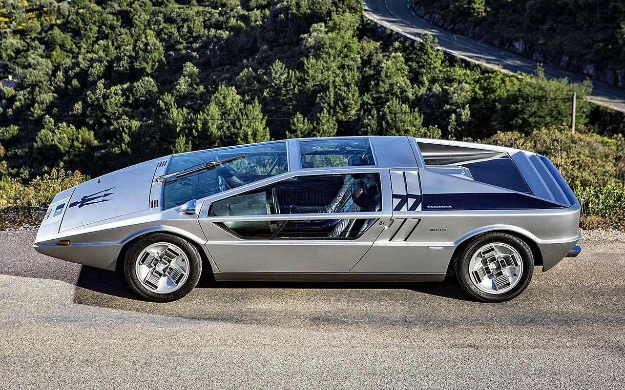 Maserati Boomerang (1971)