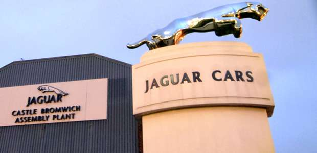 no copyright jaguar cars plant at castle bromwich