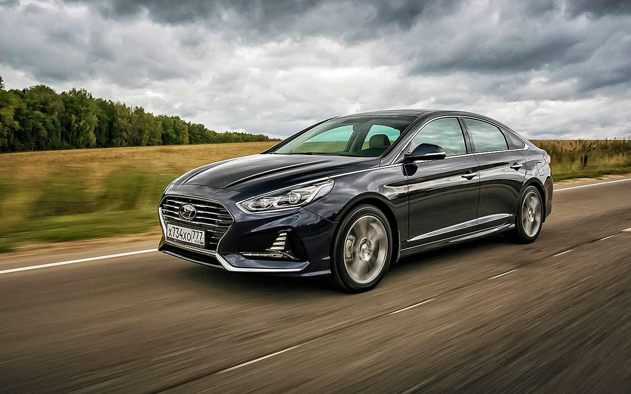 Новая Hyundai Sonata— первый тест-драйв— фото 798488