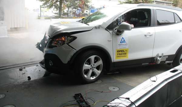 no copyright opel mokka crash test