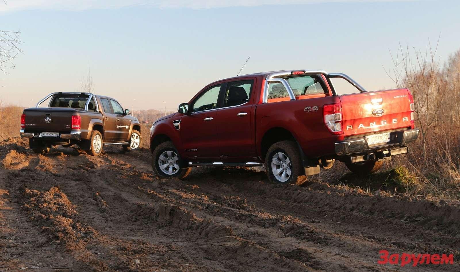 Ford Ranger иVWAmarok