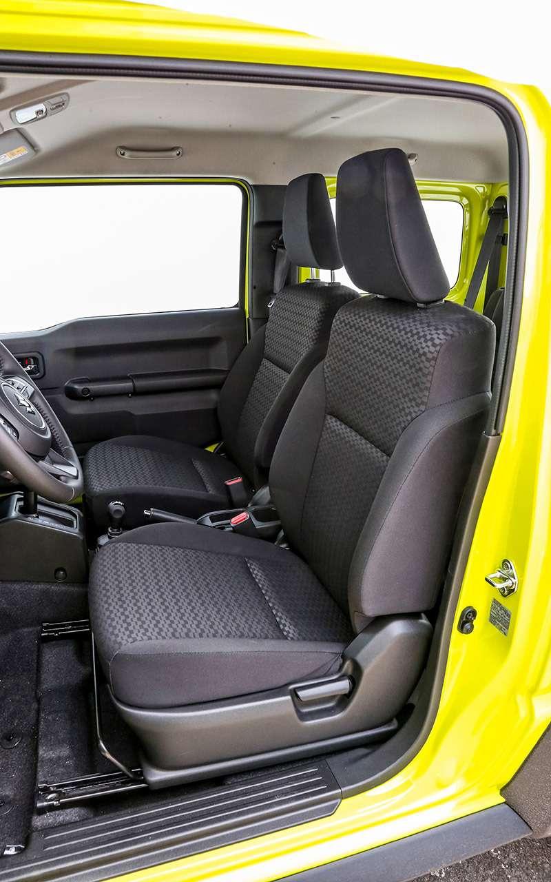 Новый Suzuki Jimny: первый тест-драйв ивидео— фото 998208