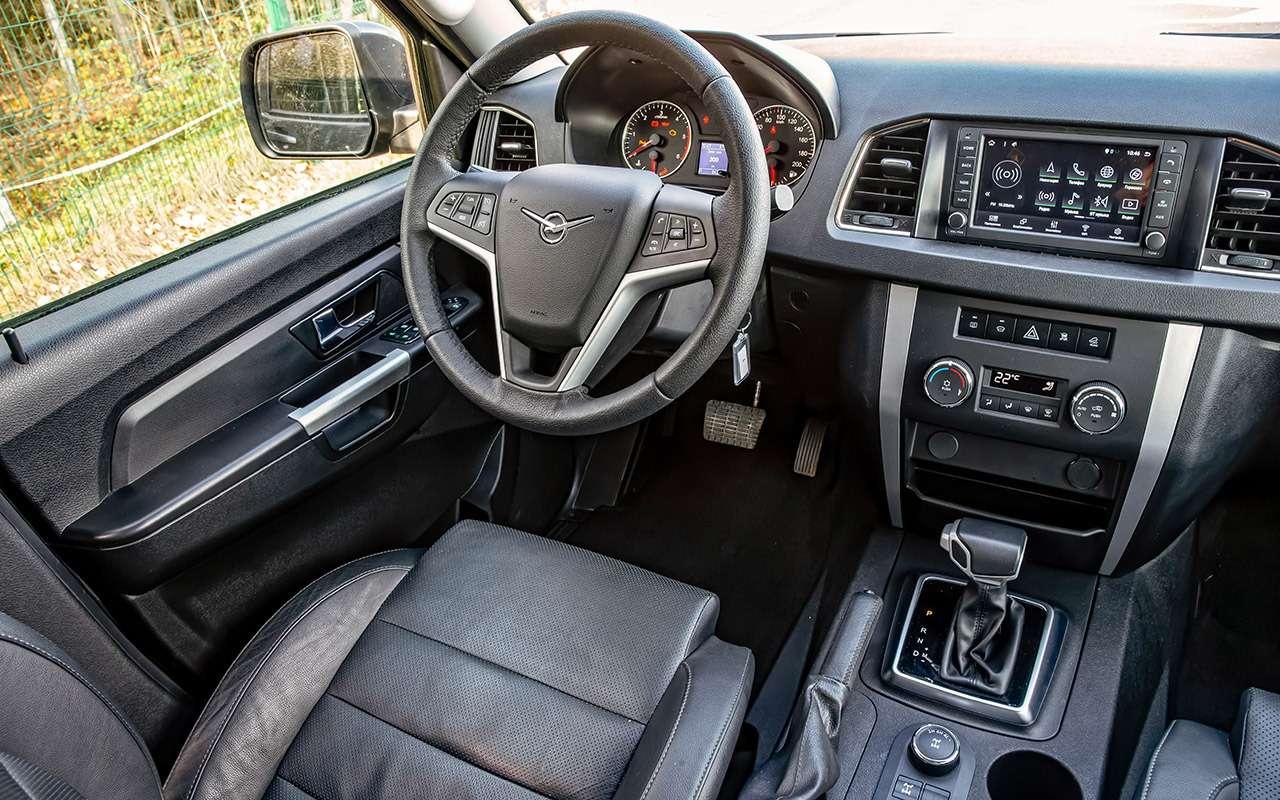 Новый УАЗ Патриот или 10-летний Land Cruiser 200: тест-драйв— фото 1058453