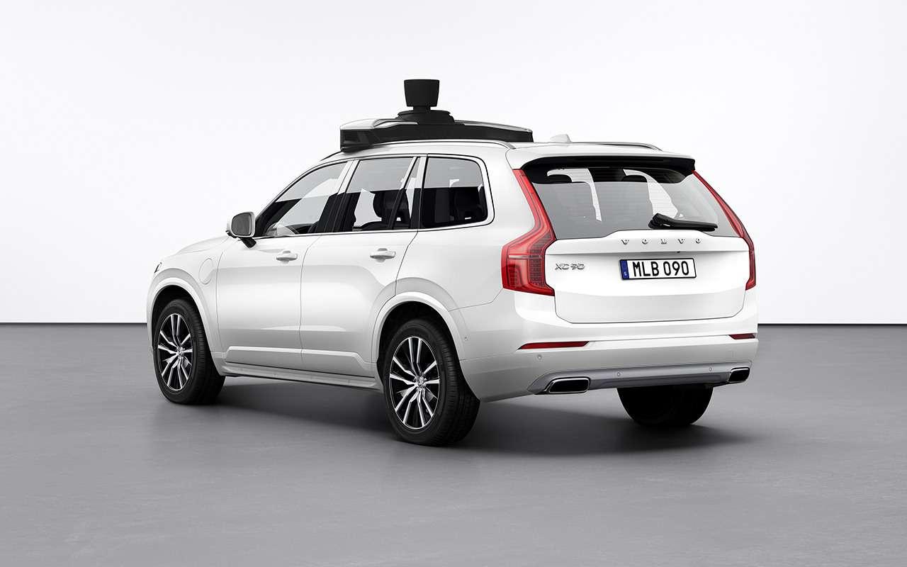 Volvo Cars иUber сделали общий беспилотник— фото 980377