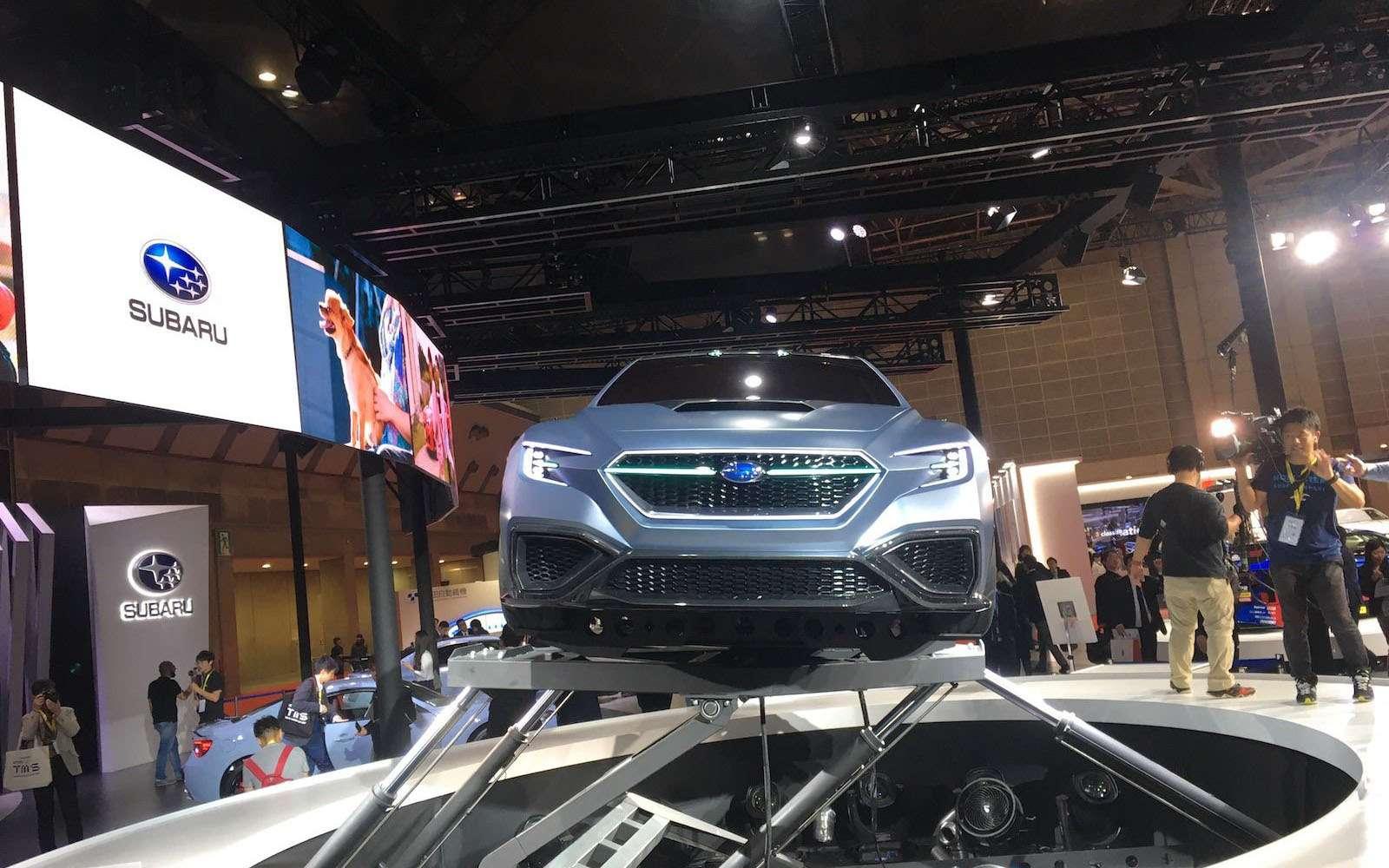 Subaru сохранит легенду: первые подробности обудущем WRX— фото 827640