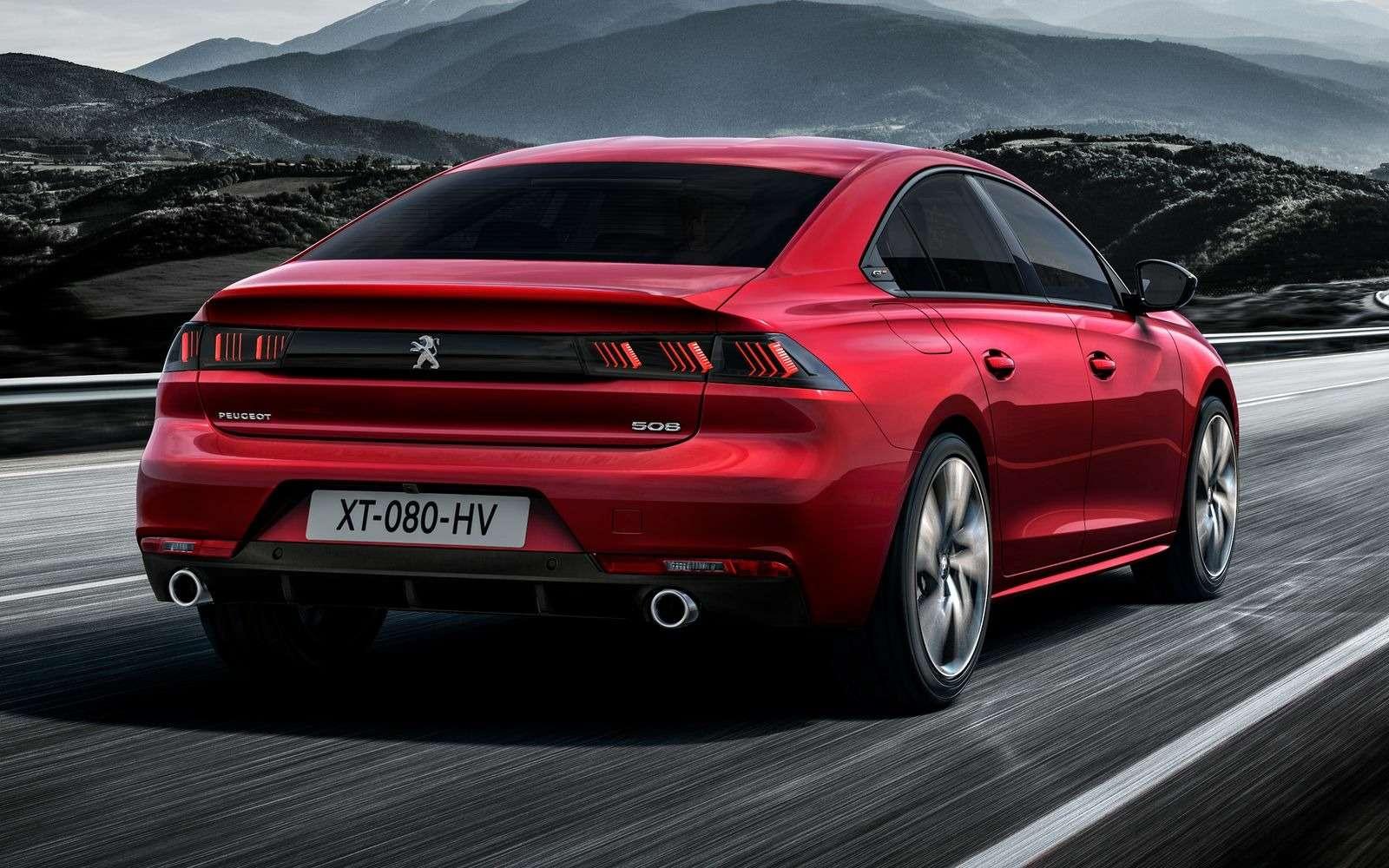 Новый Peugeot 508: французы хотят конкурировать сAudi— фото 847599