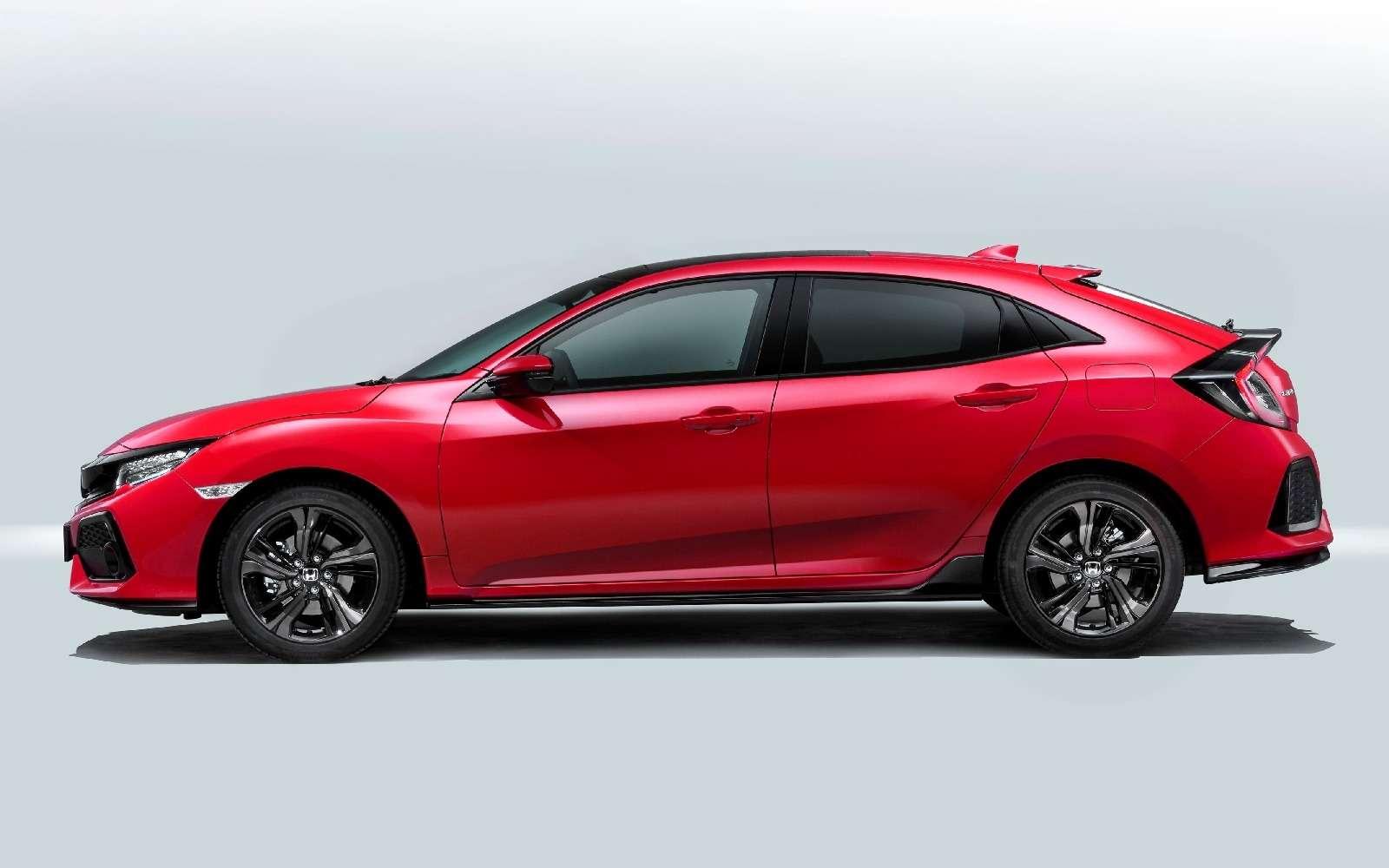 Honda Civic предстанет вПариже влучшем цвете— фото 635445