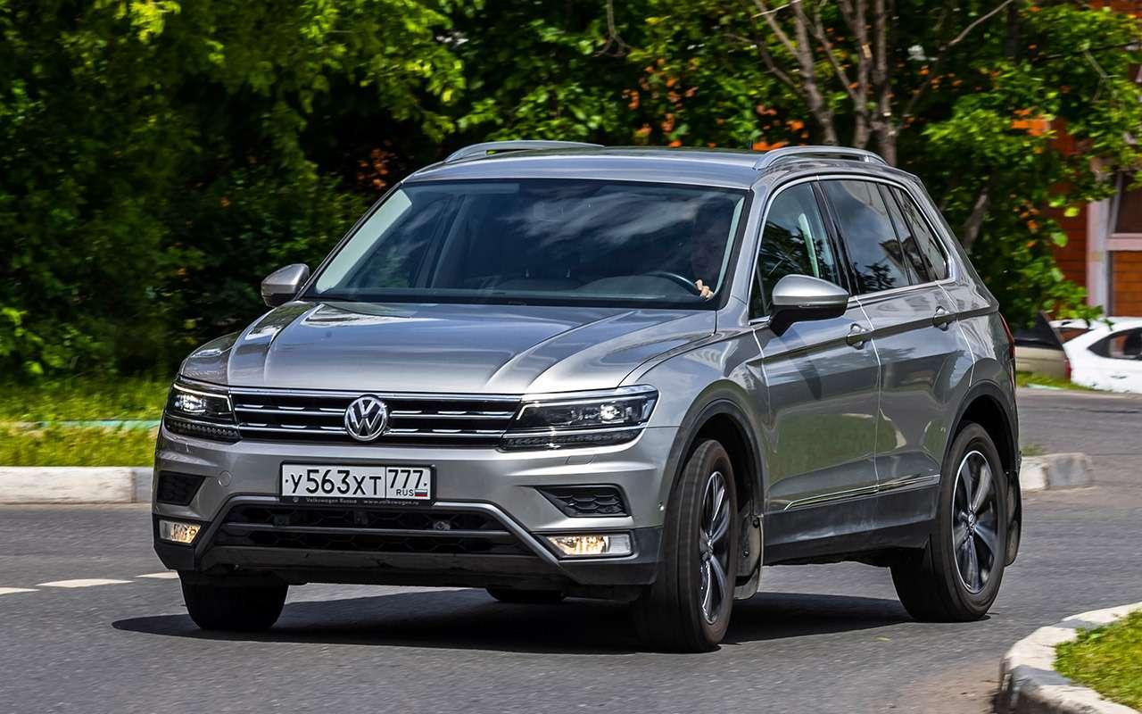 Volkswagen Tiguan изпарка ЗР: тест электронных систем— фото 887725