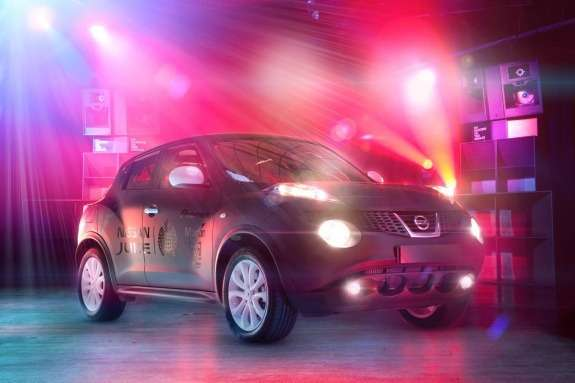 Nissan Juke Box side-front view